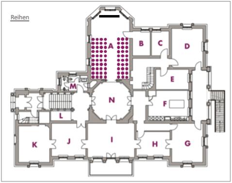 Palais Am Stadthaus Potsdam Bestuhlung